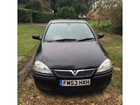 Vauxhall Corsa 1.2 SXi 5dr, 100k, New Battery