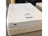 5ft king size Silent Night divan bed with 3 drawers (mattress and base)
