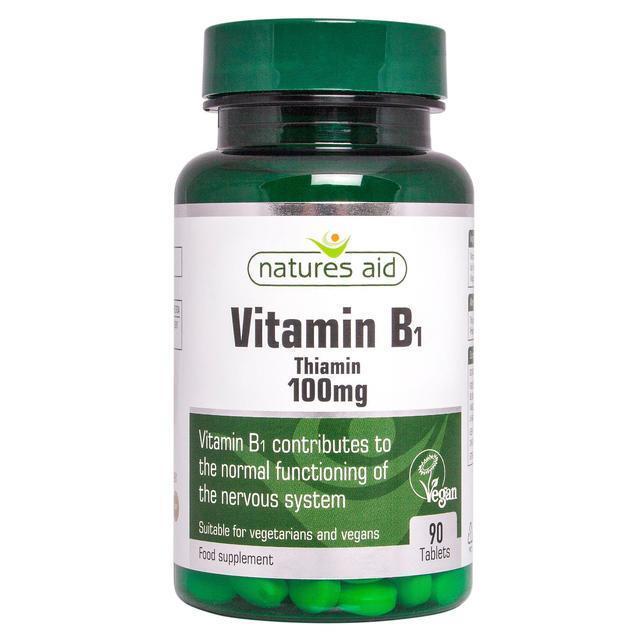 Vitamin B1 Thiamin Hydrochloride 100mg x 90 tablets