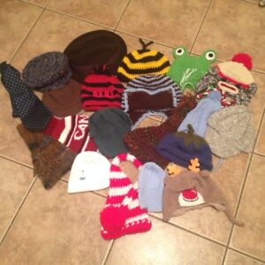 Various Baby Knit Hats/Accessories- Very Cute!