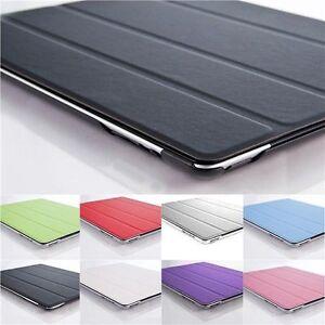 Für iPad 4 iPad 3 iPad 2 smart Cover Case Schutz Hülle Zubehör Tasche Folie Neu