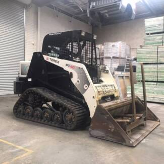2012 TEREX PT60 POSI-TRACK LOADER WITH LOW HOURS - PRICE +GST