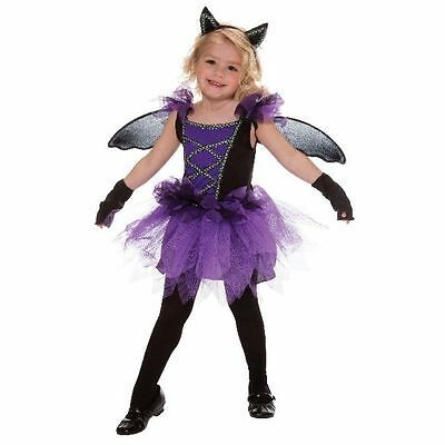 Purple Bat Fairy Toddler Halloween Costume 2T (New with Tags)](Fairy Halloween Costumes Toddler)