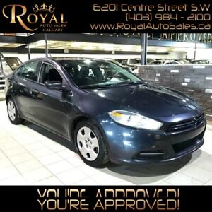 2013 Dodge Dart SE w/ PWR MIRRORS, PWR WINDOWS, UCONNECT