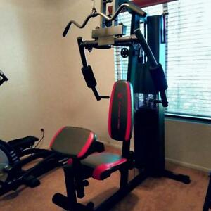 Platinum home gym 150 lb