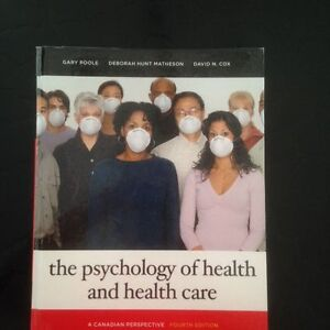 The psychology of health and health care West Island Greater Montréal image 1