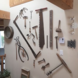Antique Tools For Wall Display