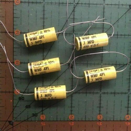5 PCS NEW Cornell Dubilier DME6S22K-F Capacitor Polyester Film .022UF,630V,10/%