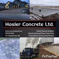 Flatwork Concrete - Experienced and Reliable
