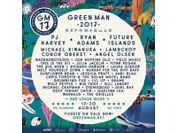 Green Man Festival x2 tickets