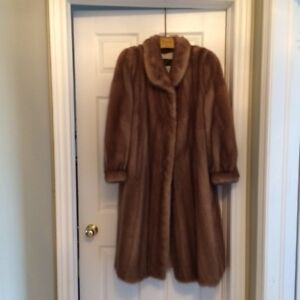 Blonde Mink Coat