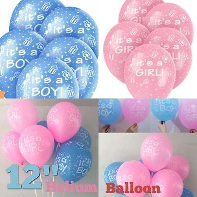 Its A Boy & It´S Mädchen Geburtstag, Baby Dusche Partydekorationen Latex Ballon