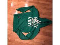 Mens Medium SUPERDRY green Overhead hoodie