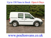 2013 (13) FORD CONNECT T220 SWB 5 SEAT CREW VAN / COMBI 1.8TDCI, Small