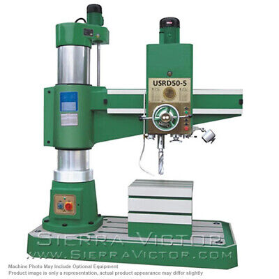 Us Industrial Radial Arm Drill Press Usrd50-5