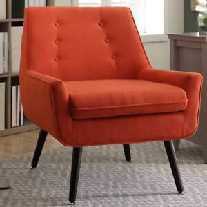 New Colette Mid Century Style Livingroom Bedroom Accent Chair