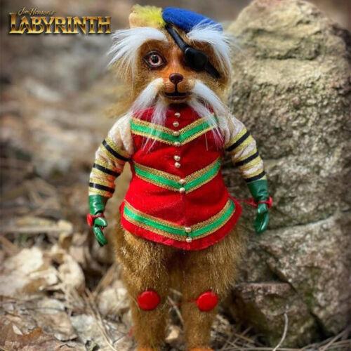 Sir Didymus Plush, Jim Henson Labyrinth, Fantasy Handmade Stuffed Toy, Bowie