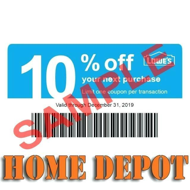 20 Lowe s Blue Cards 10 For Home Depot Only. Expires AUGUST 8/15/2021  - $10.38