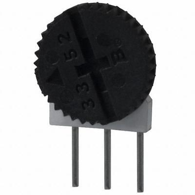 Bourns 3352 Series Trimmer Potentiometer Trimpot 100 Ohms Side Adjust