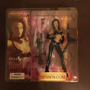 McFarlane Club members exclusive Biker chick 1st edition