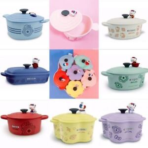 Le Creuset x Hello Kitty pot bowl plate kitchenware