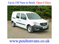 MERCEDES CITAN 109CDI BLUEEFFICIENCY L2 XLWB 5 SEAT DUALINER / CREW VAN,Small