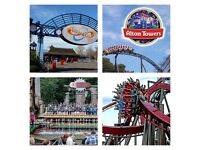 Thorpe park/Alton towers tickets