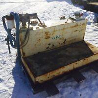 L Shaped Tidy Fuel Tank