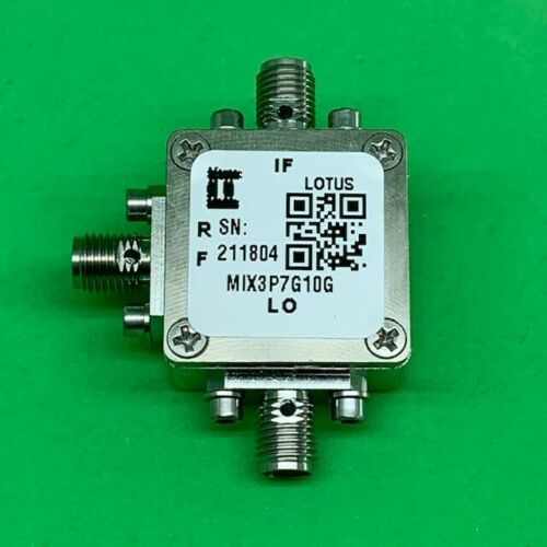 MIXER 3.7 GHz to 10 GHz RF and DC - 4G IF (Passive)