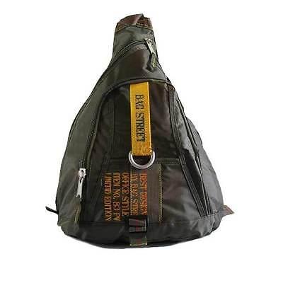 Neu Limitid Triangle Rucksack Crossbag Bag Street  BODYBAG Body 2352 khaki grün