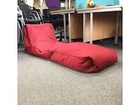 Ambient Lounge Bean Bag in Red