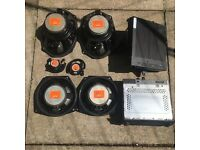 Mini Cooper S r53 harman kardon speakers+amp