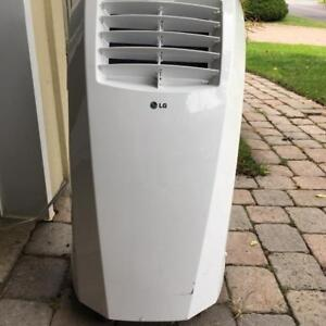 Brand New - LG 10000 BTU PORTABLE AIR CONDITIONER WITH REMOTE