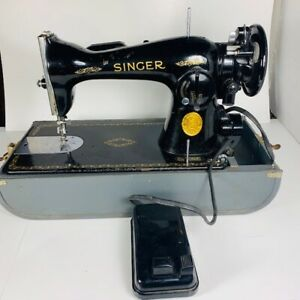 SINGER - machine a coudre - sewing machine WORKING