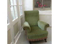 Antique Edwardian armchair