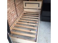 Single Bed Frame and Mattress for sale for £60