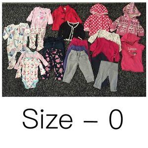 Bulk WINTER baby girl clothes Jimboomba Logan Area Preview