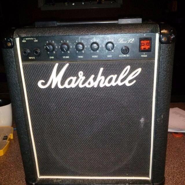 marshall bass 12 model 5501 guitar combo amp vintage in birmingham west midlands gumtree. Black Bedroom Furniture Sets. Home Design Ideas