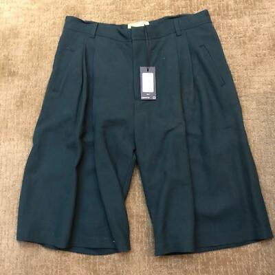 Ex Infinitas Tailored Board Short Forest Green Size 34 U.S Euro 50 NWT