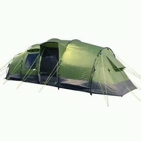 New unused Eurohike Buckingham Elite 6 man Tent