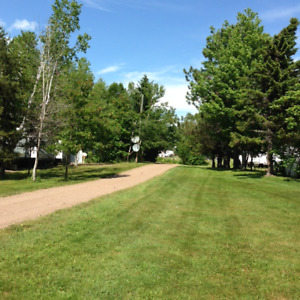 LARGE RV, HIGH AND DRY LOTS FOR RENT ON GRAND LAKE