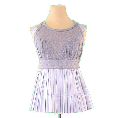 Louis Vuitton Tank Top Pleated Ladies Authentic Used L1929