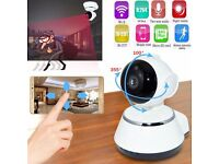 Ip camera 720P Wifi IP Camera Wireless ONVIF CCTV Security(view via app!) move camera via phon