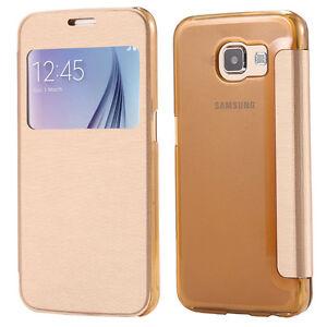 Samsung Galaxy S7 Ultra Slim Flip PU Case Cover(New)