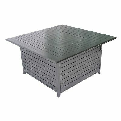 Legacy Heating 45-inch All Aluminum Square Fire Pit Table CDFP-S-CA 45 Inch Fire Pit Table