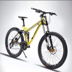 Brand new downhill/enduro mountain bike