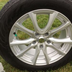 Hercules Avalanche Snow Tires Alum. Rims 225 60 R17 - 5X120mm