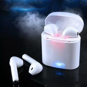 Wireless Headset Bluetooth Earpieces i7S Tws Earbuds Twins Earphone With Charging box