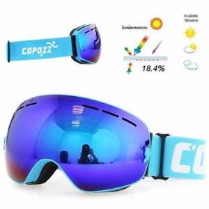 Blow Out !!!!! Only $59,49 COPOZZ Goggles For Snow Snowboard Snowmobile WE PAY SHIPPING !!!