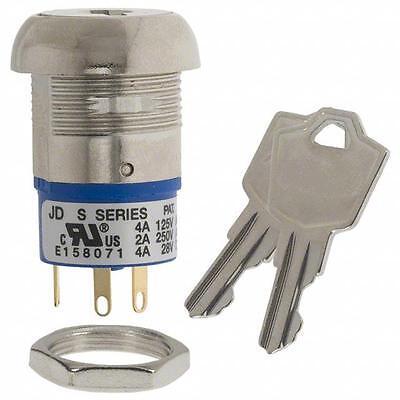 Momentary Key Switch 3 Position 45 Deg 45 With Keys - Brand New